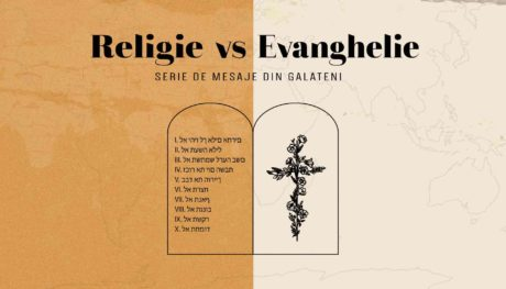 Religie vs Evanghelie - Grafica FHD low quality